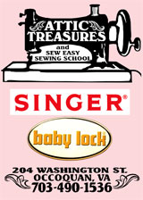 Sew Easy Sewing School & Attic Treasures, Occoquan, Virginia