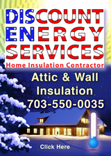 Discount Energy Services, Serving Northern Virginia, Call 703-550-0035