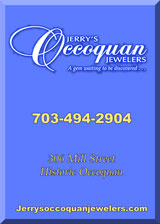 Jerry's Occoquan Jewelers, a gem to be discovered, Call 703-494-2904 Or Click here to go to Jerry's Occoquan Jewelers web site.